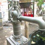 南千住の素盞雄神社にある井戸ポンプ #地域ブログ #荒川区のはなし #荒川区