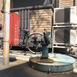 荒川区荒川2丁目 突き当りの路地にある井戸ポンプ
