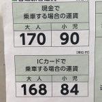 2019年10月1日から東京さくらトラム(都電荒川線)の運賃が変更 #地域ブログ #荒川区のはなし #荒川区