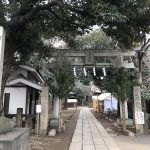 令和2年(2020年)の初詣に向けて西日暮里の諏方神社でも準備が進んでいます #地域ブログ #荒川区のはなし #荒川区