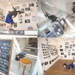 写真に囲まれたダンスパフォーマンスもある、OGU MAGで開催中の『「気配」細川麻実子 覗き覗かれる 透き間の風景』レポート #地域ブログ #荒川区のはなし #荒川区 #気配