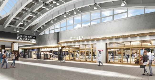 JR日暮里駅構内のエキュート日暮里は全28ショップで2020年7月にリニューアルオープン