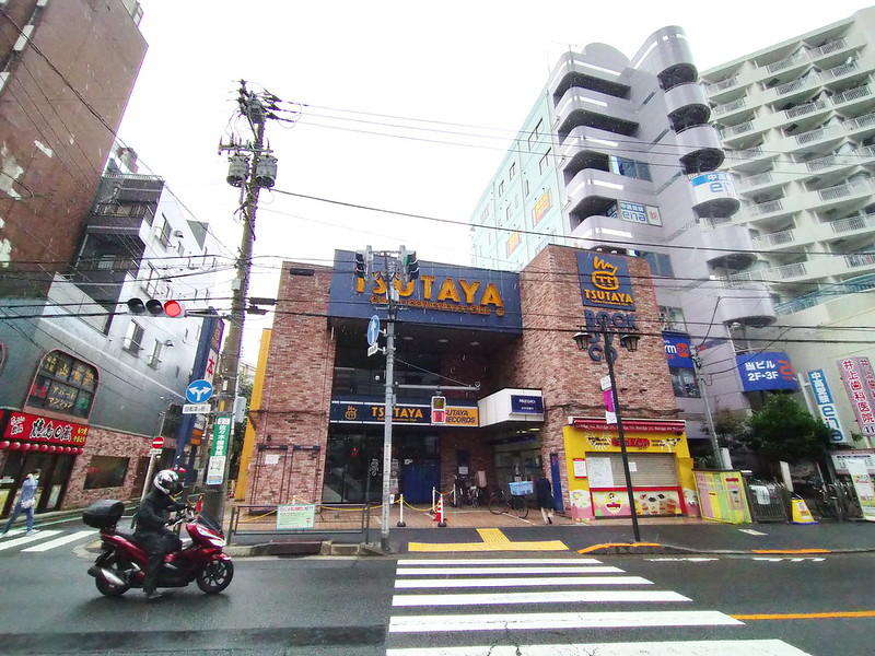 東京都荒川区の(旧)TSUTAYA町屋店の建物は地上12階建ての共同住宅及び店舗に生まれ変わります