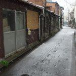 東京都荒川区荒川6丁目にあった昭和の長屋が消えた日