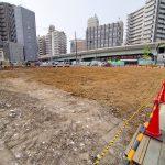 東京都荒川区荒川の宮地交差点にあった城北信用金庫の建物がなくなったら、実はすごく広々とした土地だった件