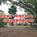 西日暮里の諏方神社は密を避けて楽しめるトレインビュースポット