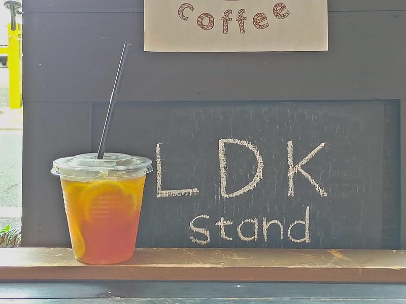 町屋駅近くにあるあの名もなき小さなカフェの屋号が「LDK stand」に決定しました!