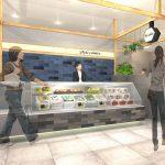 2020年7月15日(水)にエキュート日暮里内に野菜とタマゴを楽しむ惣菜ショップ Deli comer(デリコメール)がオープン オープン記念キャンペーンとして収納袋付オリジナルエコバッグのプレゼントもあり