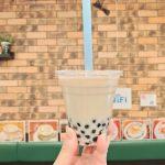 三河島駅近くにあるカフェナイスデイではテイクアウトならタピオカミルクティーが10%引き