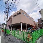 令和3年(2021年)2月に開設予定の新たな尾久図書館の外観がだんだん見えてきました
