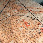 リニューアルオープンしたエキュート日暮里内にある古地図テーブルを眺めるのが最高に楽しい!