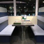 子連れで楽しめるトレインビューなサイゼリヤ 日暮里東口店の窓際の座席配置が変更されていました