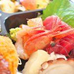 西日暮里駅近くにある刺身屋新太郎 本店で豪華なランチのお弁当をテイクアウトしてみた!お刺身や唐揚げの美味しさにリピート決定