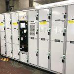 JR西日暮里駅の改札内にもコインロッカーが設置されました