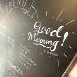 町屋のPresso café&barで朝7:30からのモーニング営業を開始しました