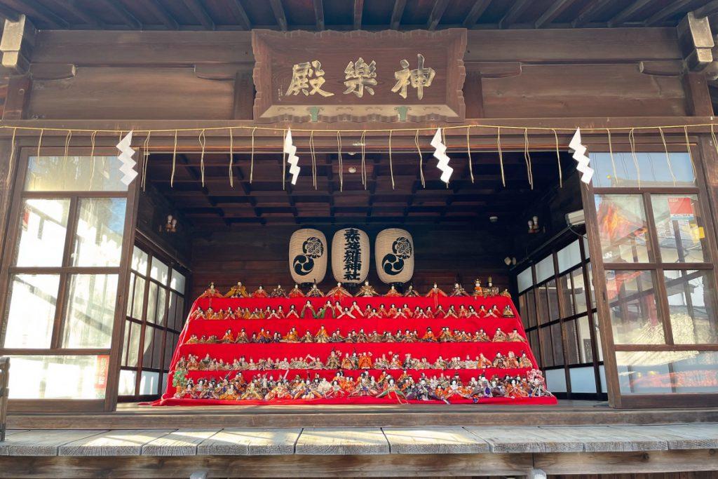 2021年も荒川区南千住の素盞雄神社に圧巻の雛飾りが登場しました!