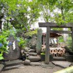2021年7月1日(木)、南千住の素盞雄神社境内にある富士塚の御山開きが斎行